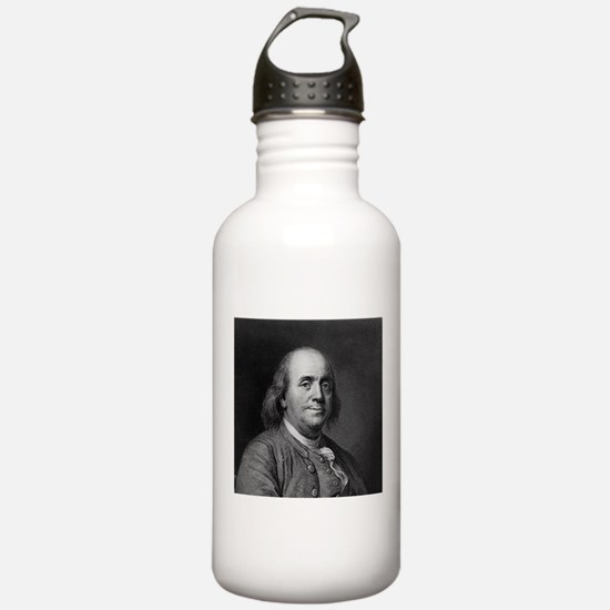 Ben Franklin An American Portrait.jpg Water Bottle