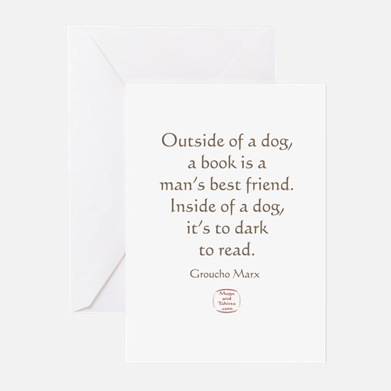 A MANS BEST FRIEND Greeting Cards (Pk of 10)