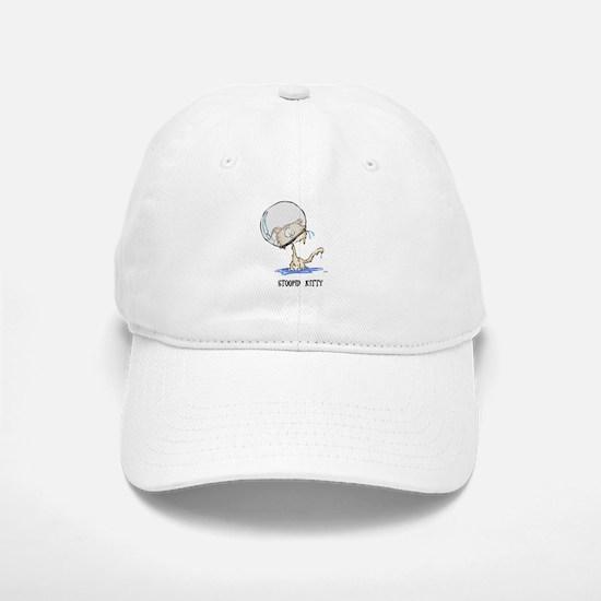 Stoopid Kitty Baseball Baseball Cap