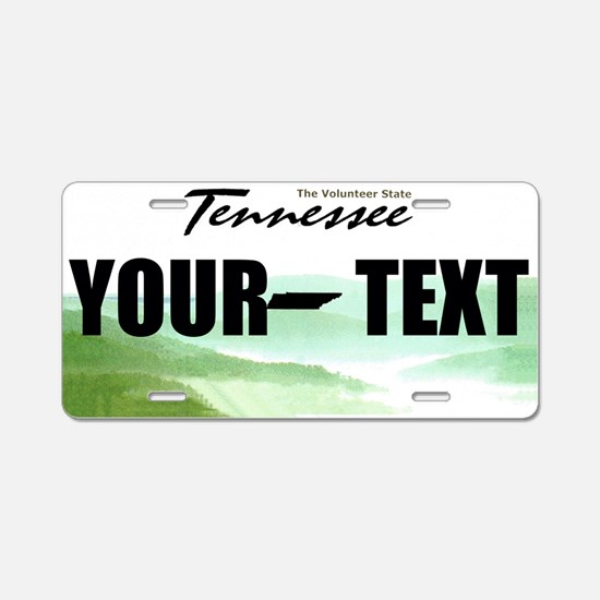 Tennessee Custom License Plate