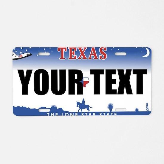 Texas Custom License Plate