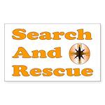SAR (OR) Sticker (Rectangle 10 pk)