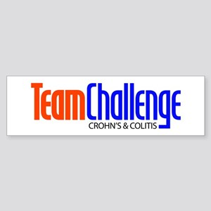 Team Challenge logo Sticker (Bumper)