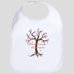Breast Cancer Awareness Tree Bib