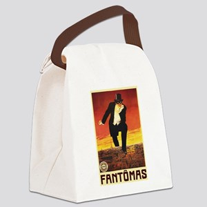 Fantomas 1913 Canvas Lunch Bag