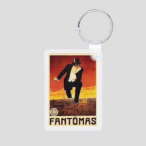 Fantomas 1913 Aluminum Photo Keychain