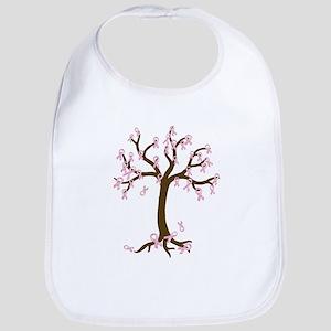 Breast Cancer Tree Bib