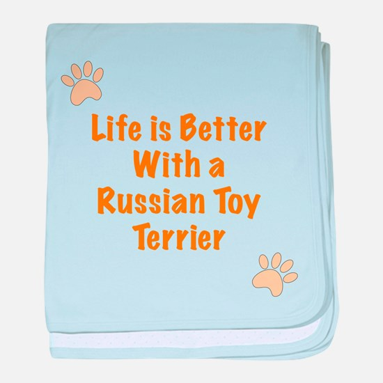 Life is better with a Russian Toy Terrier baby bla