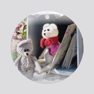 Franscious and Lennart Mice Ornament (Round)