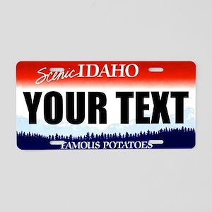 Idaho Custom License Plate