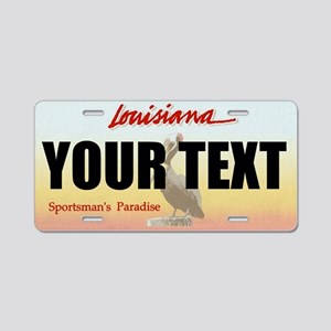 Louisiana Custom License Plate