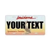 Louisiana License Plates