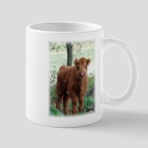 Highland Calf Mug