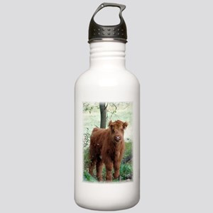 Highland Calf Stainless Water Bottle 1.0L