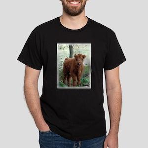Highland Calf Dark T-Shirt