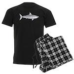 Great White Shark Men's Dark Pajamas