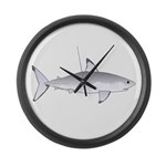 Great White Shark Large Wall Clock