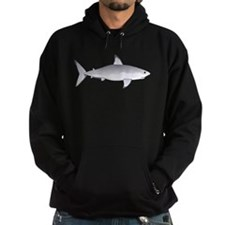Great White Shark Hoodie (dark)