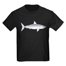 Great White Shark Kids Dark T-Shirt