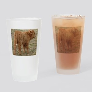 Little White Tail Drinking Glass