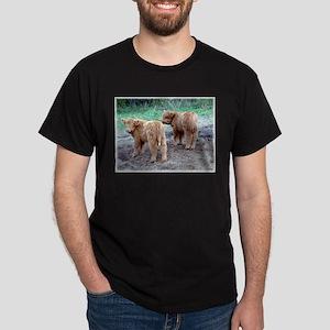 Cute faces... cute tails Dark T-Shirt