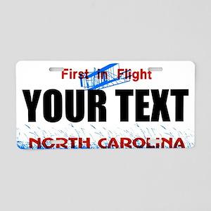 North Carolina Custom License Plate