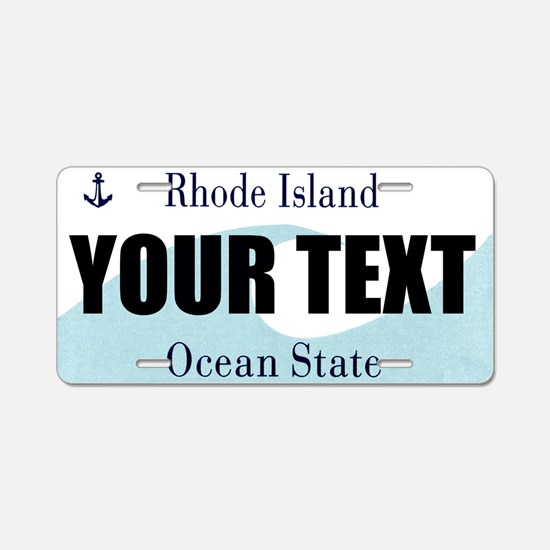 Rhode Island Custom License Plate