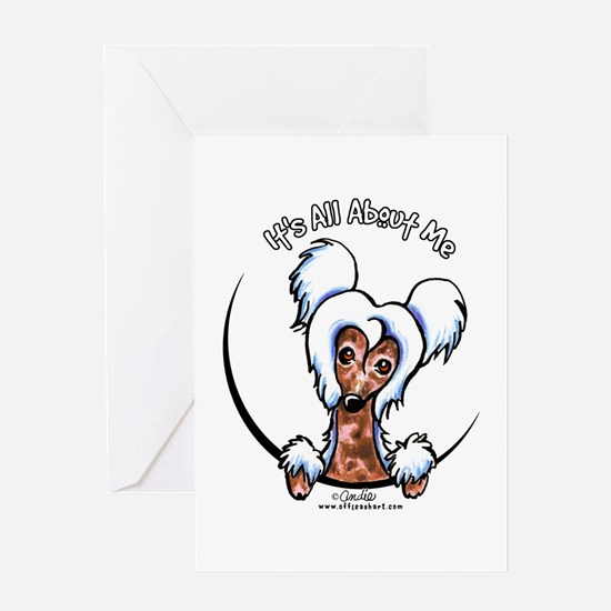 Chinese Crested IAAM Greeting Card