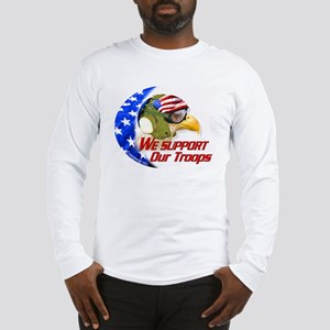 """American Carrier Eagle"" Long Sleeve T-Shirt"