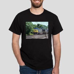 CSX Q190 Doublestack Train Ash Grey T-Shirt T-Shir