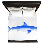 Shortfin Mako Shark King Duvet