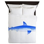 Shortfin Mako Shark Queen Duvet