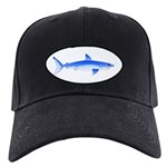 Shortfin Mako Shark Black Cap