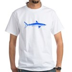Shortfin Mako Shark White T-Shirt