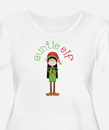 Auntie Christmas Elf T-Shirt