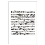 Music notes Large Poster