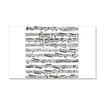 Music notes Car Magnet 20 x 12