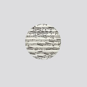 Music notes Mini Button