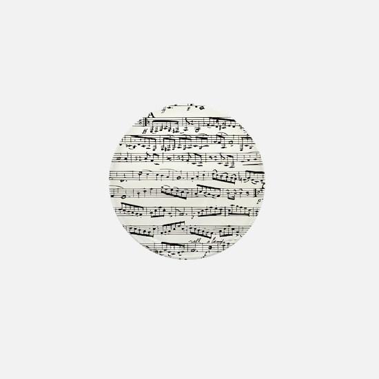 Music notes Mini Button