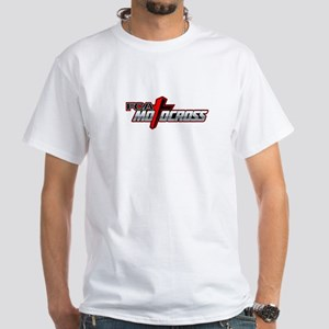 FCA MX SS Tee - White - Front and Back Images