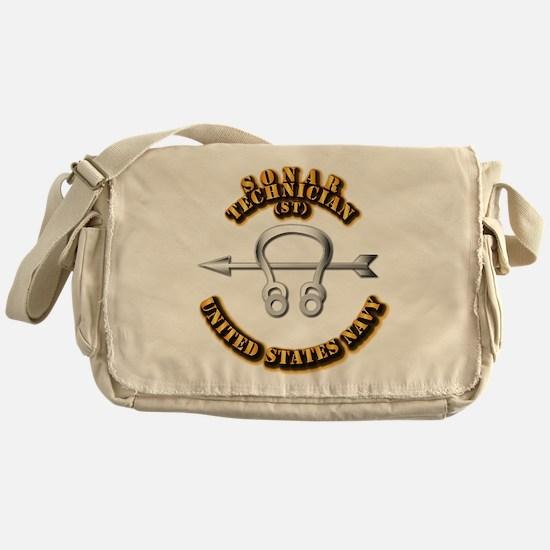 Navy - Rate - ST Messenger Bag