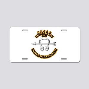 Navy - Rate - ST Aluminum License Plate