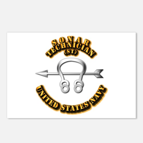 Navy - Rate - ST Postcards (Package of 8)