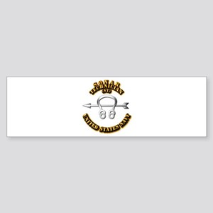Navy - Rate - ST Sticker (Bumper)