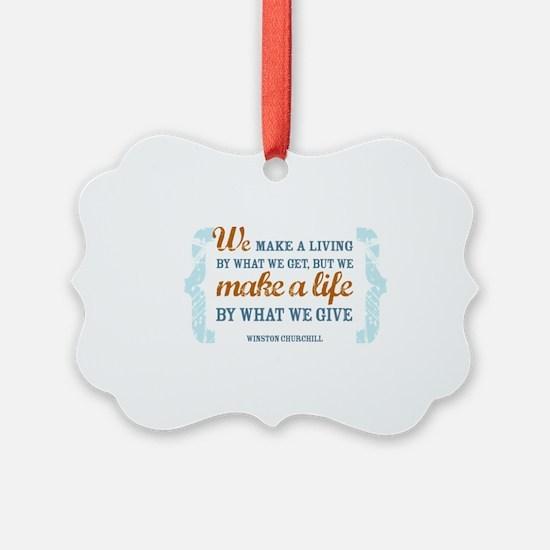 Make a Life Ornament