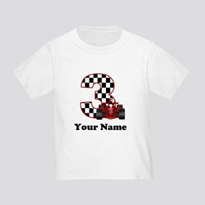 3rd Birthday Race Car Toddler T-Shirt