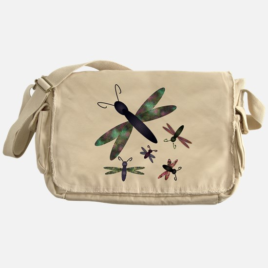 Dragonflies.png Messenger Bag