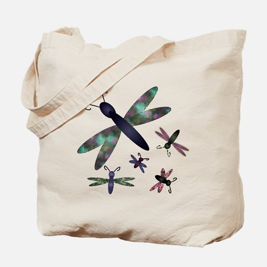 Dragonflies.png Tote Bag