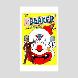 The Barker Comics #1 Sticker (Rectangle)
