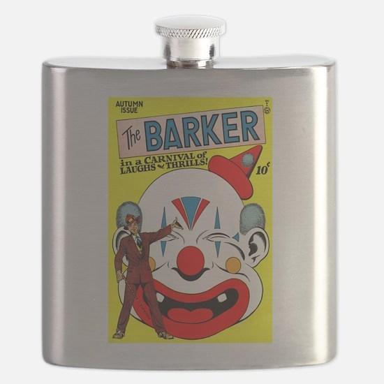 The Barker Comics #1 Flask
